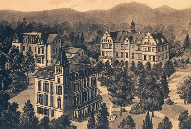 St. Vinzenz-Haus, Zeichnung