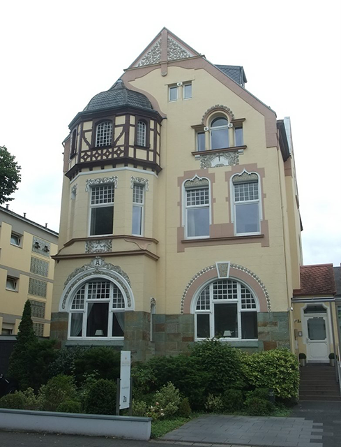 Blick auf das Hotel Villa Godesberg