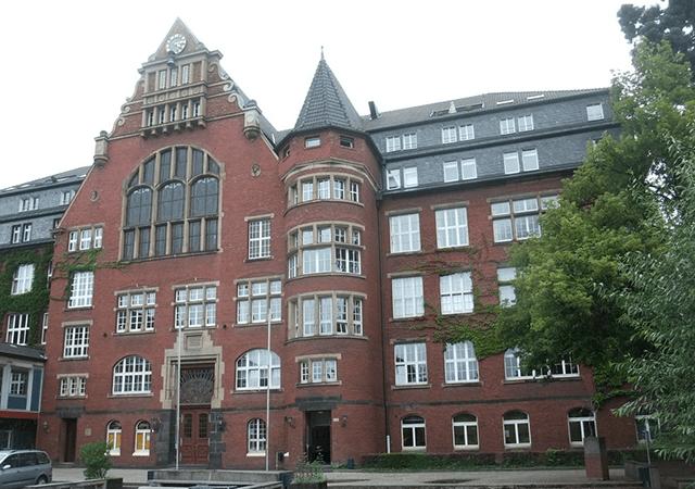 Blick auf die Otto-Kühne-Schule
