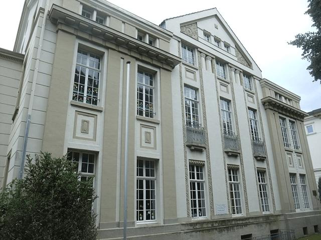 Blick auf das ehemalige Keplerbundhaus