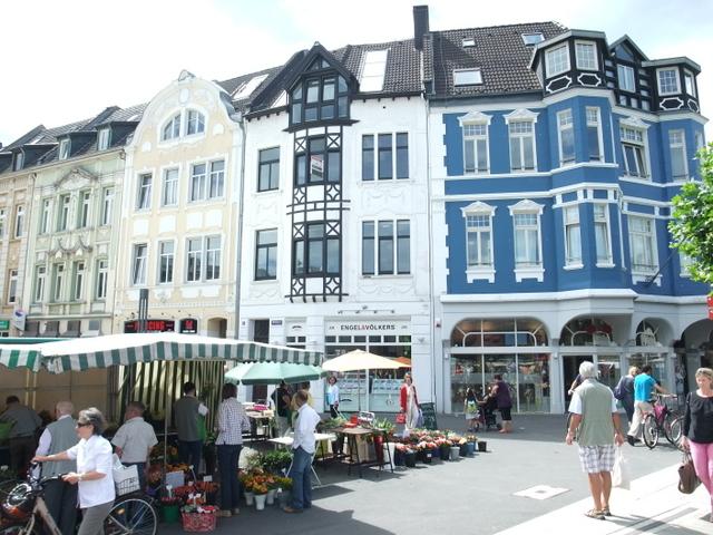Moltkeplatz mit Markt