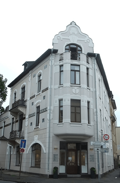 Altes Geschäftshaus in der Beethovenallee