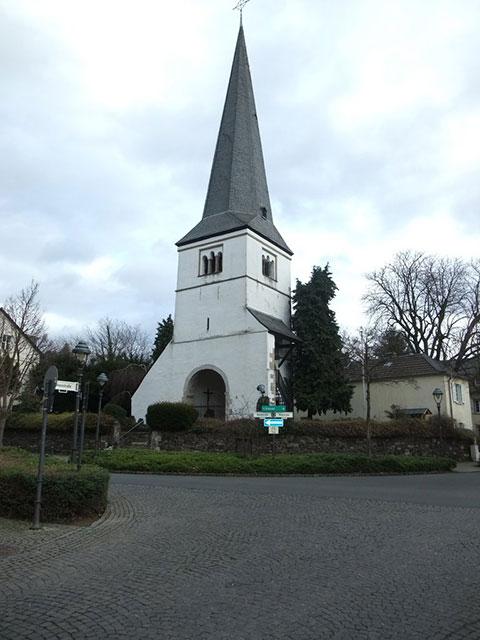 Blick auf den Alten Kirchturm St. Andreas