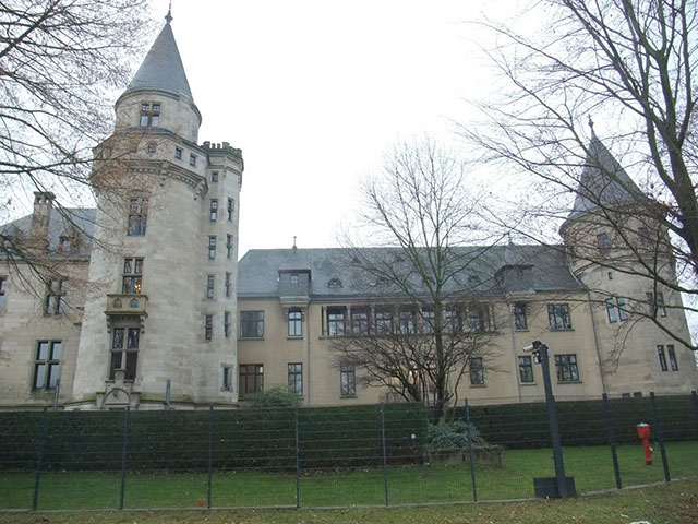 Blick auf das Haus Carstanjen