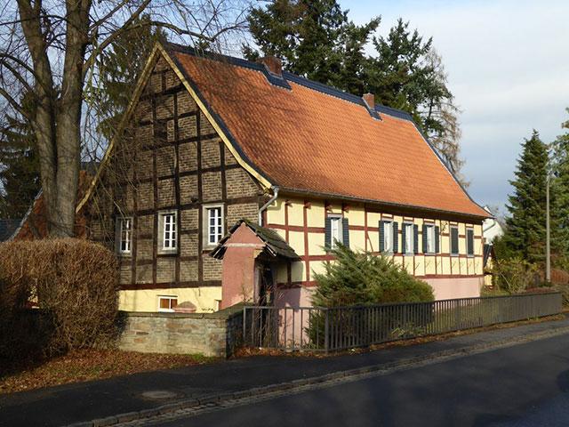 Blick auf den Klufterhof