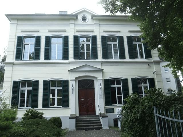 Blick auf das ehemalige Bürgermeisterhaus