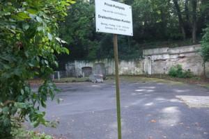 Der Draitschbrunnen vor der Neuanlage